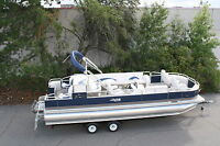 High quality-New 24 ft Tritoon pontoon boat fish and fun--Factory direct sales