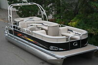 New Grand Island 24 ft pontoon boat---Factory direct sales