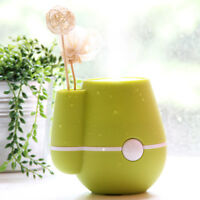 USB Mini Air Purifier Humidifier Lime Green Mist Filter Portable Steam Water
