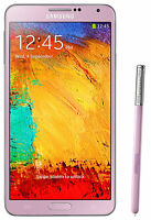 New Samsung Galaxy Note 3 SM-N9005 Quad-Core 5.7'' 13MP 4G LTE 32GB Pink Phone