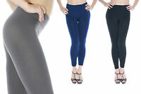 Women's Comfy Thermal Insulated Legging Tights - Packs of 2