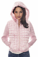 Womens Authentic FTX Pink Puffer Winter Jacket