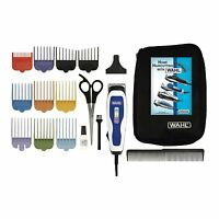 CLIPPER 3184 Wahl Color Pro Color Coded Haircutting Kits 17 Piece