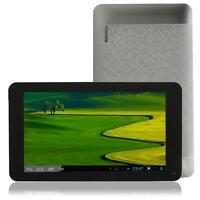 "7"" 4GB V8880 Two-core Android 4.2 3G Dual Camera Tablet PC WIFI Black &Silver"