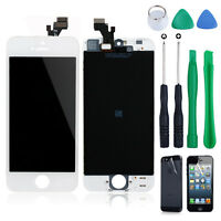For iPhone 5 G Front Panel LCD Display + Touch Digitizer Lens Screen Assembly WT