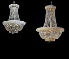"""CHANDELIER BED-DINING FOYER 22""""EMPIRE LIGHTING CRYSTALS"""