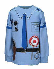 Kinder Uniform Sweatshirt* Polizei Blau92/98 bis128/134