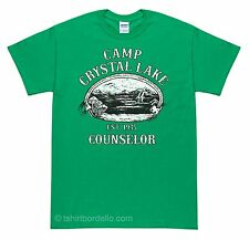 Camp Crystal Lake Counselor T-Shirt  S - 4XL