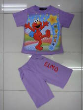BNWT Elmo Girls Summer Pyjamas/PJ Size 0,1,2,3,4