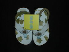 NWT GYMBOREE SWIM BAJA SURF TURTLE SANDALS FLIP FLOPS
