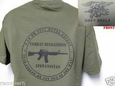 NAVY SEAL T-SHIRT/ AFGHANISTAN COMBAT OPS T-SHIRT