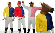 Jockey Stag Party Fancy Dress Horse Race Costume Funny