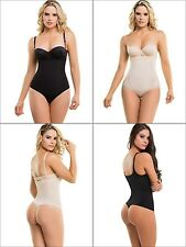 Braless Thong Body Shaper Light, Under Bust Girdle, Fajas Reductoras Colombianas