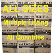A-K GOLD MAIL LITE PADDED BAGS / ENVELOPES 'ALL SIZES' ALL QUANTITIES