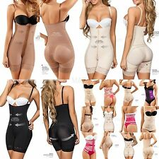 Full Body Shaper Mid-Thing Firm Compression, Fajas Reductoras Colombianas Moldea