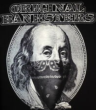ORIGINAL BANKSTERS - WORK - OBEY- CROOKS AND CASTLES - BANKSY -HUF -the hundreds
