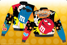 M&M Celebrate kids nascar style JH design jacket  brand new