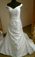 New With Tags Alfred Angelo 2032 Wedding Dress Gown Size12  Ivory Retail $976