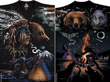 NEW Nature Indian Bear Native American West Indian Premium T Shirt  M L XL 2X