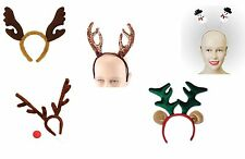 REINDEER ACCESSORIES KIT CHRISTMAS FANCY DRESS ALL KINDS