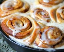 Cinnamon Buns - Low Carb Sugar Free, Diabetic Diet Food, Atkins, HCG, High Fiber
