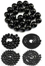 Natural Onyx Round Beads 15.5'' 2mm 3mm 4mm 6mm 8mm 10mm 12mm 14mm 16mm 18mm 20