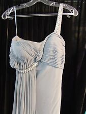 NWT Paris Connection Prom Pageant Ladies Formal Dress Gray Size 6 More Dresses!