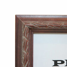 """Custom Wood Picture Frame - 1"""" BROWN - Any Size! Great for Diplomas & Photos!"""