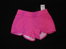 NWT GYMBOREE CAPE COD CUTIE PINK POLKA DOT LADYBUG SCALLOPED SHORTS