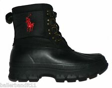 Polo Ralph Lauren Crestwick mens boots winter new black red