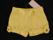 NWT GYMBOREE ISLAND BEAUTY YELLOW FLOWER SHORTS LAYETTE