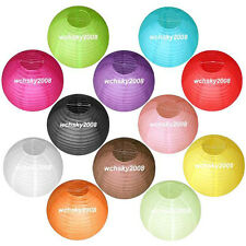 """Multicolor Chinese paper Lanterns Wedding Party Decorations 8"""""""
