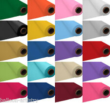 100ft Plastic Banquet Roll Party Wedding Table Cover Over 20 Colours