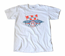 Vintage 1953 Iskenderian Racing Cams Bonneville Decal T-Shirt - Hot Rod, Speed