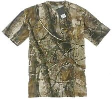 TREE CAMO STEALTH T-SHIRT mens 100% cotton tee M-XXL hunting fishing camping