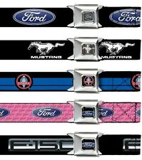 Seat Belt Buckle Ford Oval Mustang Trucks Built Tough