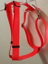 Fully Adjustable Dog Harness Metal Hardware USA Made  Durable