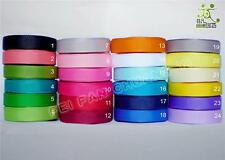 """3/8"""" 9mm Grosgrain ribbon lot bow wholesale 1 roll/100Yards craft"""