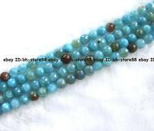 """8,10,12,14mm sky blue crackle Agate round faceted Beads 15"""""""