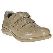 Aravon by New Balance FLORA Womens Taupe Leather Comfort VELCRO Walking Shoe