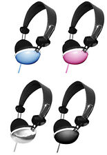 Hype™ 3.5mm Stereo Headphones Solid Series, Choice of 4 Colors - Amazing Sound!