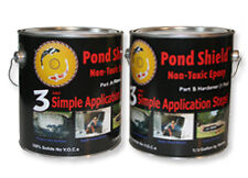 Pond Armor Shield Liner Sealer 1.5G BLACK CLEAR BLUE GRAY TAN GREEN WHITE 8Color