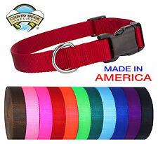 Deluxe Nylon Dog Collars (Various colors & sizes available!!)
