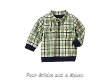 NWT Gymboree Baby Boy's Smart Little Guy Plaid Zip Up Jacket 3-6 M  or 12-18 M