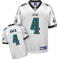 Kevin Kolb Jersey: Reebok White #4 Philadelphia Eagles BIG SALES OVERSTOCK