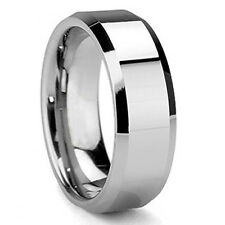Durable Mens Tungsten Carbide Wedding Band Ring Size 9 10 11 12 13 Us Seller