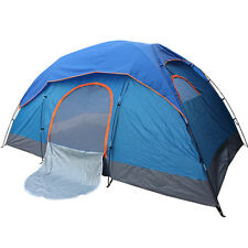 New 2 Man POP UP/4 Man/8 Person Outdoor Camping Dome Tent Family Festival  Tent