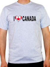I Love Canada T-Shirt - Mens - Various Sizes and Colours