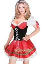 Sexy Adult Costume Dutch Girl Beer German Cosplay Size S-6XL t158