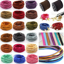 5/100 Yards Velvet Korea Frosting Thread Cords For Making Bracelet Necklace 3mm